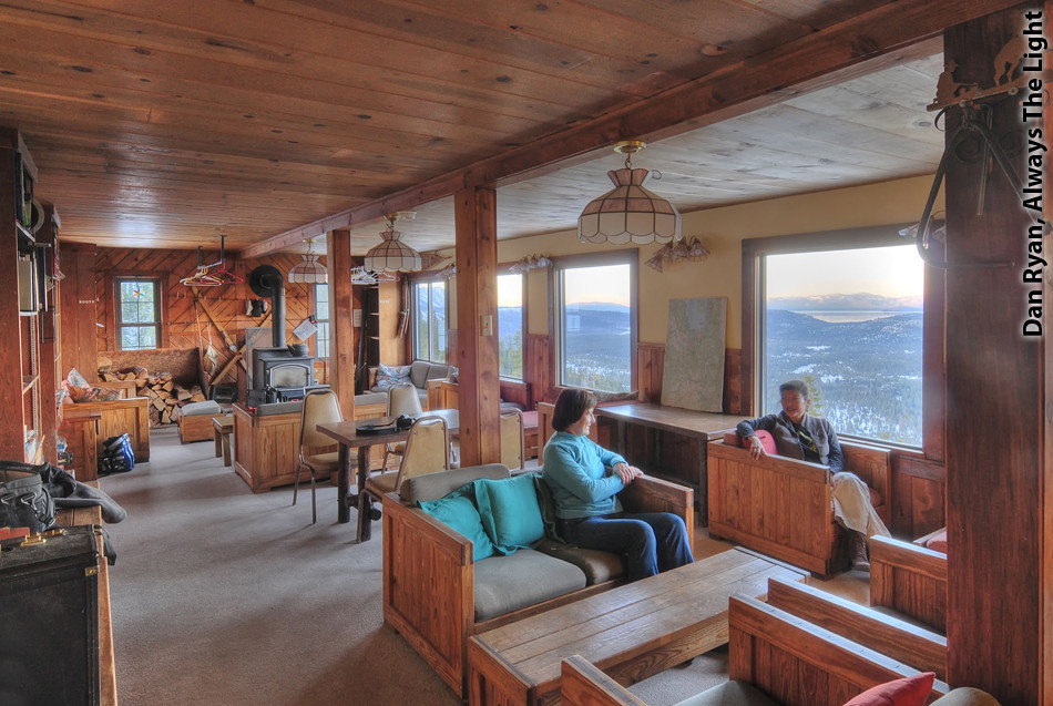 Echo Summit Lodge living room
