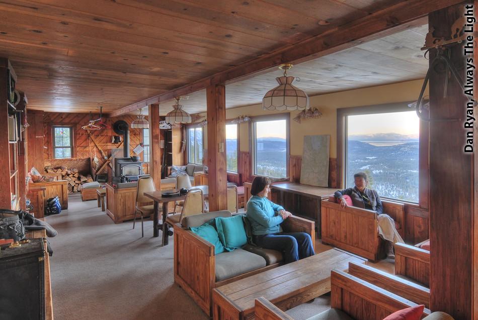 Echo Summit Lodge living room